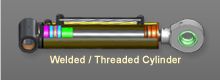 Welded / Threaded Cylinder